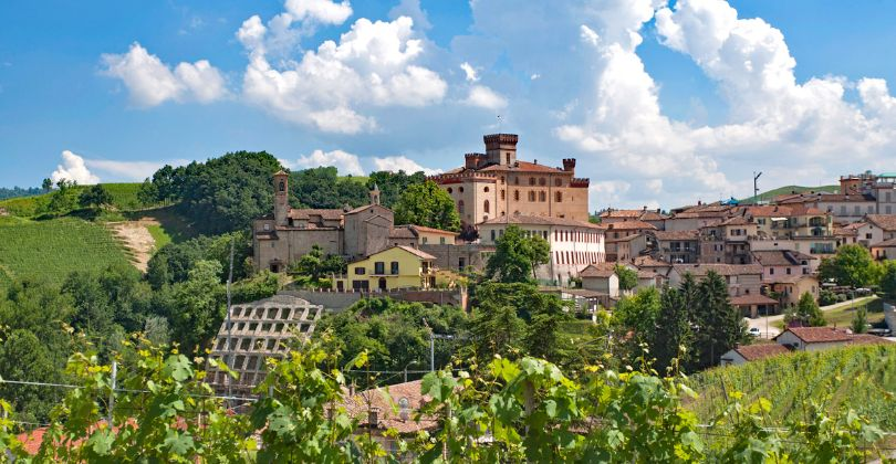 World-famous wine village Barolo