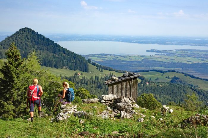 Stunning view to the Chiemsee