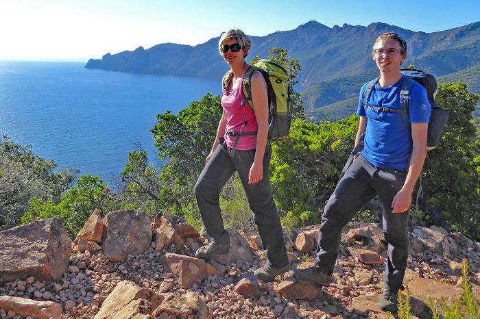 Magic of the Corse coast on our hiking tours