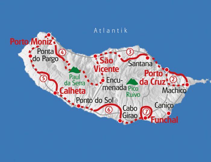 Wandern Auf Madeira Eurohike Wanderreisen