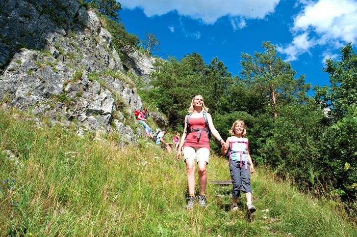 Beautiful hiking trails for the whole family in the Altmühl valley