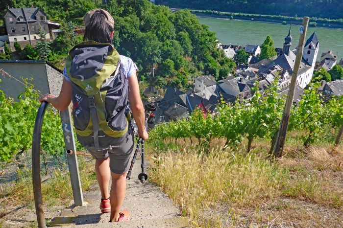 Hiking trails from Mainz to Koblenz