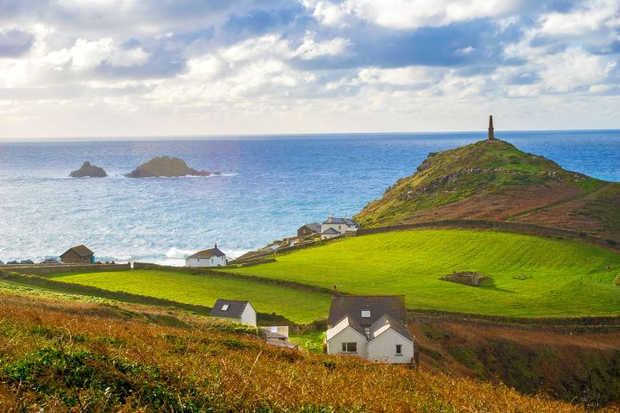 View from the hiking tour at Cape Cornwall