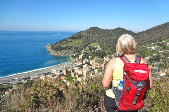 Hikes with view to the ligurian villages