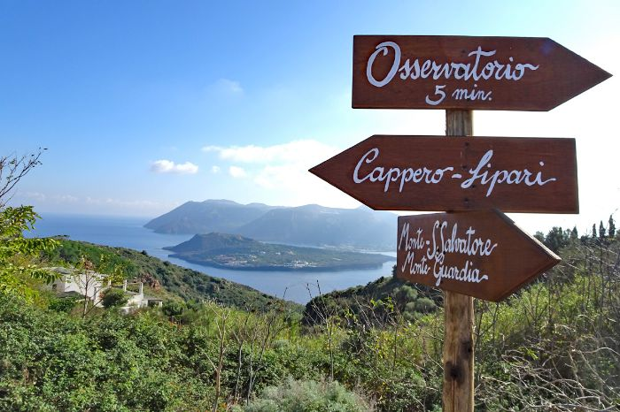 Breath taking hiking routes on the island of Vulcano