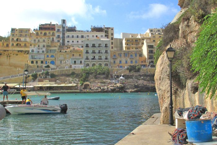 Gorgeous view to the pictorial Bay Xlendi