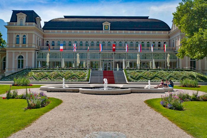 Culture and history at the Kurhaus of Bad Ischl
