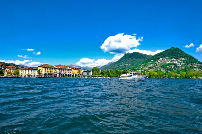 Enchanting Lake Lugano