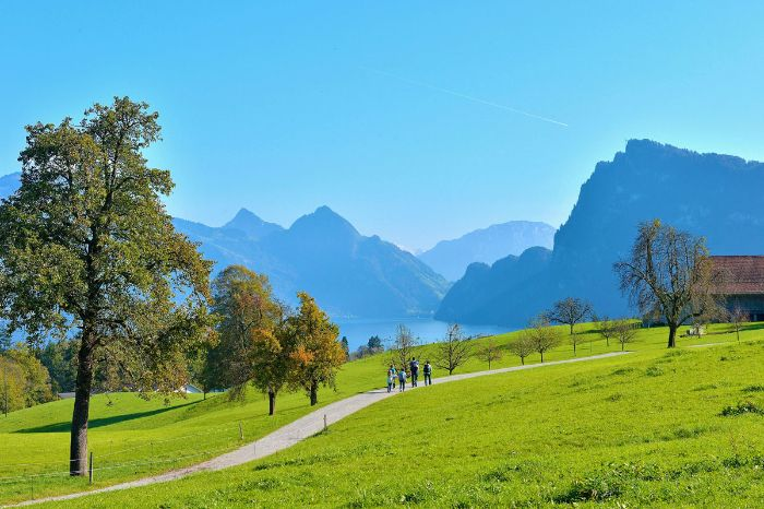 Hiking in Nidwalden