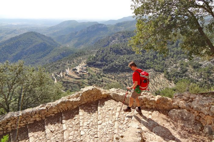 Hiking without luggage on Mallorca