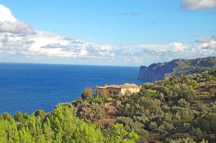 Fantastic coastal views in Deia