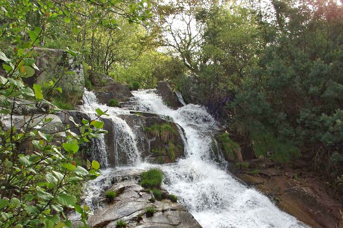 Beautiful waterfalls along the hiking routes