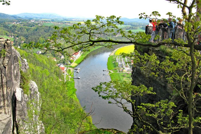 Gorgeous view in Saxon Switzerland