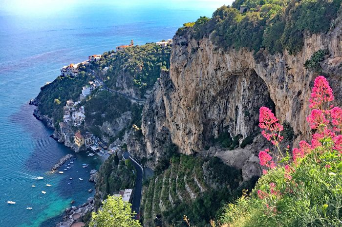 Breathtaking walking routes arouond Positano