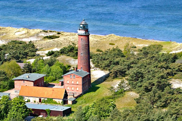 Lighthouse at the Baltic Sea