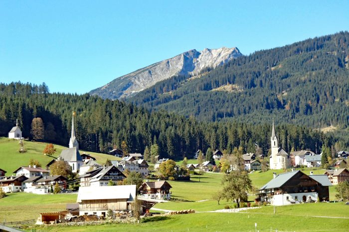 Typical village in the Chiemgau