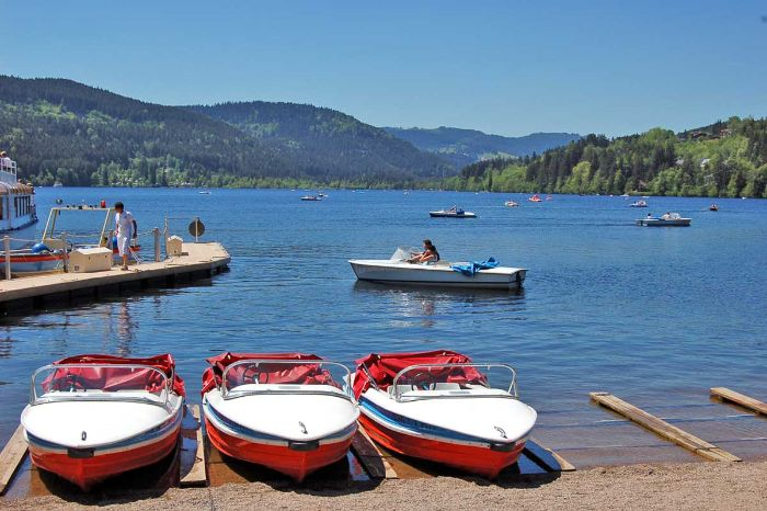 Boat trip at the lovely Titisee