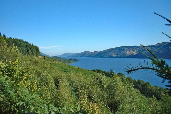 Hiking experience to Loch Ness