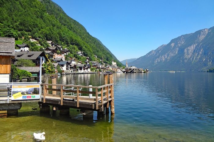 Hiking highlight world heritage region Hallstatt