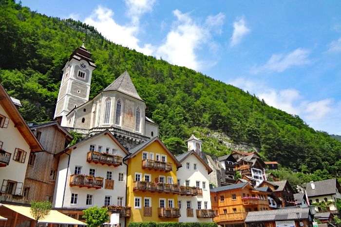 Hiking highlight world heritage village Hallstatt