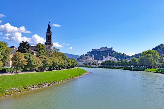 Jacob`s pilgrim - hiking along the Salzach