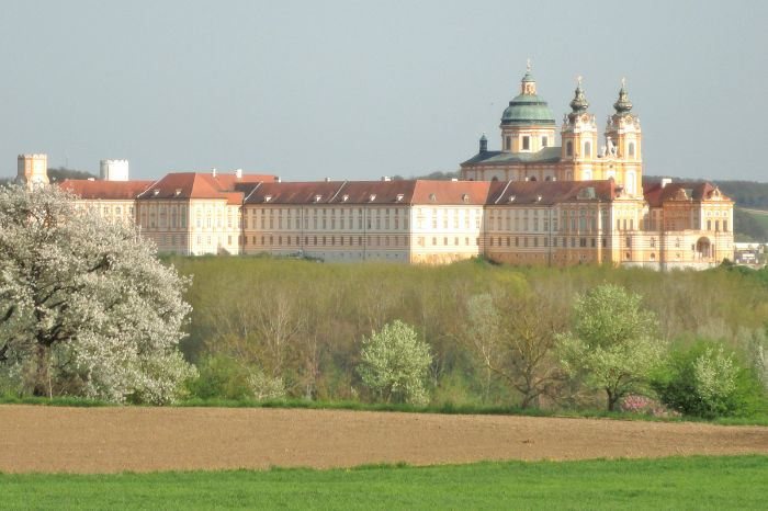 The impressive Abbey of Melk
