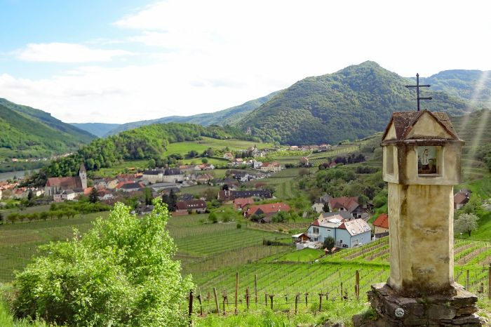 Romantic hiking trails in the Wachau