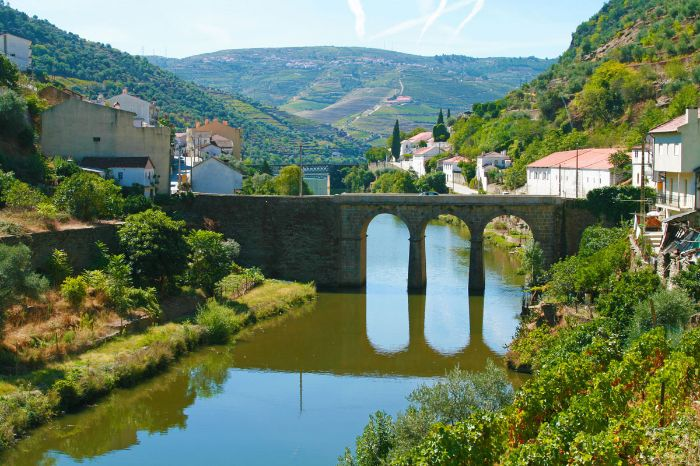Traditional villages while hiking in the Douro-valley