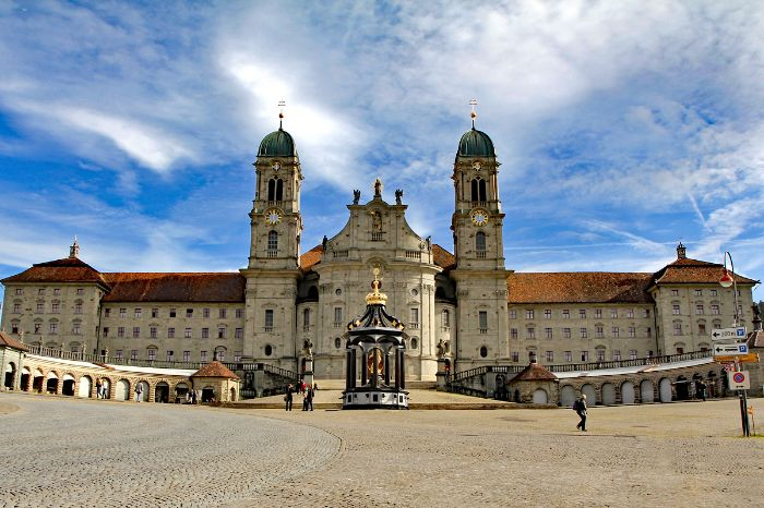 Abbey in Einsiedeln