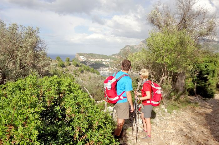 Lonely hiking trails in Port Soller