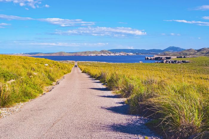 Hiking paths along the sea in Menorca